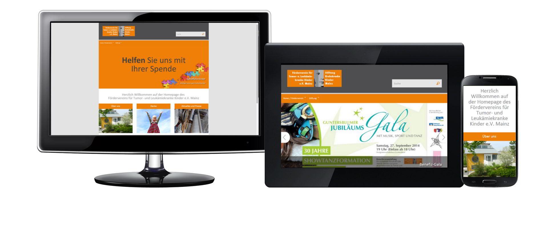 Wordpress Webseite mit Spendefomular