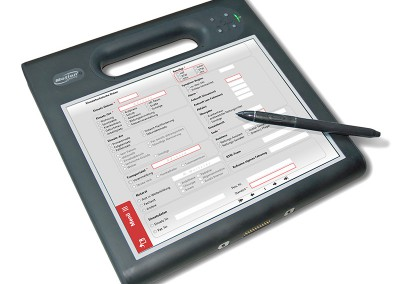 RescueDoc auf Motion Tablet