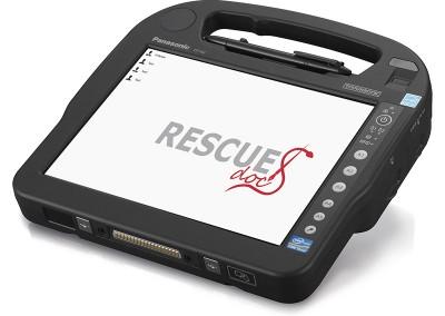 RescueDoc auf Panasonic Toughpad