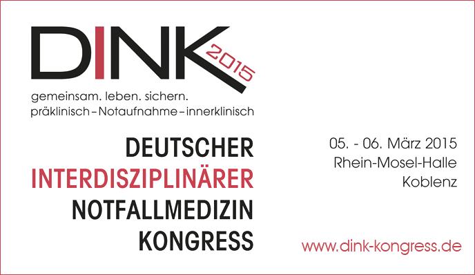 DINK 2015: Dokumentation für Rettungsdiensteinsätze